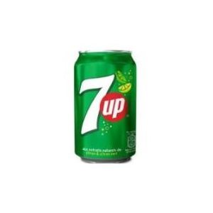 7up canettes 24 x 355 ml