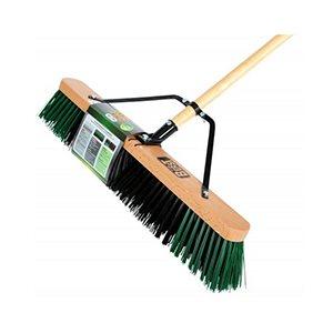 "Coarse fill pre-assembled push broom 24"""
