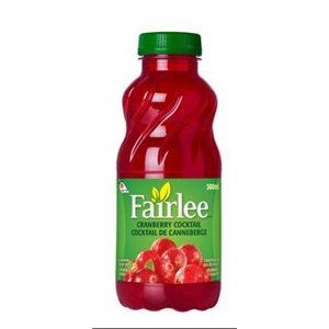 Fairlee Cranberry juice 24 x 300ml