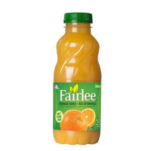 Fairlee orange juice 24 x 300 ml