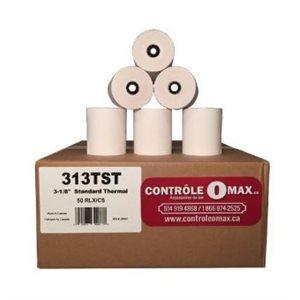 Papier thermal 3-1 / 8 pour M.E.V. (50)