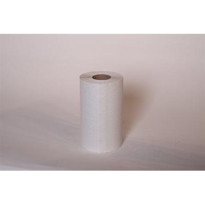"Papier à mains blanc 8""x420' (12rlx)"