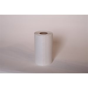 "Hand towel 8""x420' white (12 rolls / cs)"