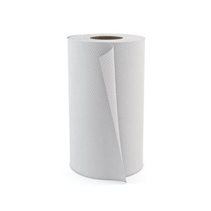 "Hand towel 8""x205' white (24 rolls / cs)"