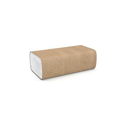 """Papier à mains plis multiples blanc 9.1""""x9.5"""" (4000 / cs)"""