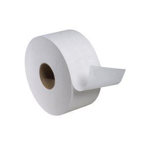 "Toilet paper mini jrt 1 ply 3.5""x1200' - (12 rlx / cs)"