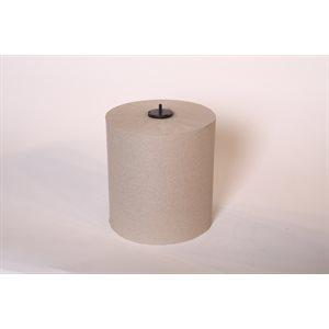 """Papier à mains brun universel 8""""x1000' (6rlx)"""