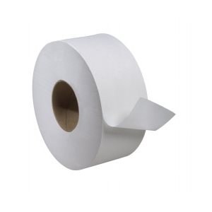 Toilet paper jrt 3.3 1ply 2000' (12 rlx / cs)