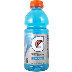 Gatorade blue 12 x 591 ml